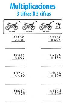 Buscar multiplicaciones de dos cifras